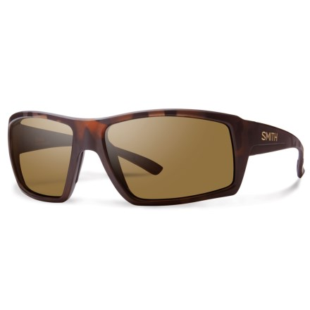 0aa753a2dc Clearance. Smith Optics Challis Sunglasses - Polarized ChromaPop® Lenses in  Matte Tortoise Brown