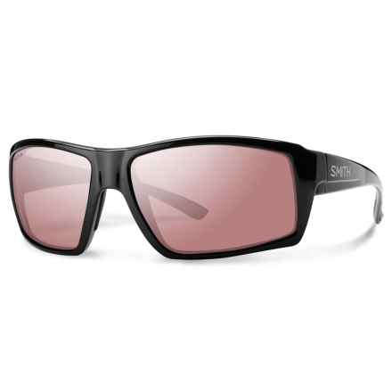 Smith Optics Challis Sunglasses - Polarized ChromaPop® Polarchromic Ignitor Lenses in Matte Black - Overstock