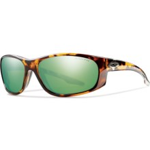 Smith Optics Chamber Sunglasses - Polarized, Glass Lenses in Tortoise/Green Mirror - Closeouts