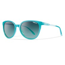 Smith Optics Cheetah Sunglasses (For Women) in Aqua/Lagoon Gradient - Closeouts