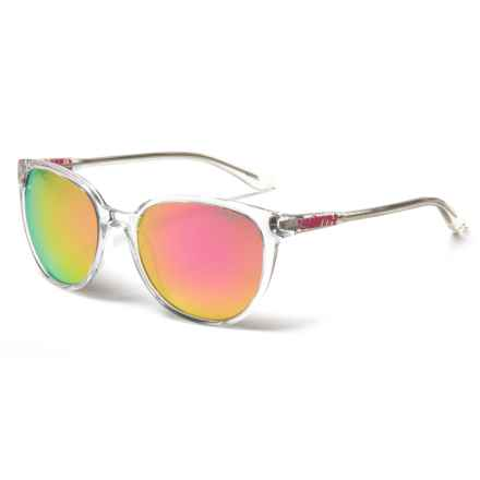 Smith Optics Cheetah Sunglasses (For Women) in Crystal/Pink Mirror - Closeouts