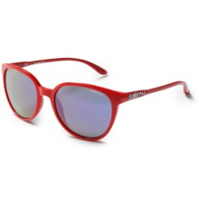 Smith Optics Cheetah Sunglasses (For Women) in Red/Purple Sol-X - Closeouts