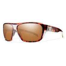 Smith Optics Chief Polarchromic Sunglasses - Polarized, Glass Lenses in Copper Plaid/Copper Mirror - Closeouts