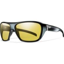 Smith Optics Chief Sunglasses - Polarized, Glass Lenses in Black/Low Light Ignitor - Closeouts