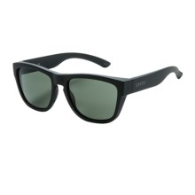 Smith Optics Clark Sunglasses - Carbonic Lenses in Matte Black/Gray Green - Closeouts