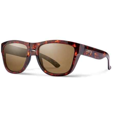 Smith Optics Clark Sunglasses - Carbonic Lenses in Vintage Havana/Brown - Closeouts