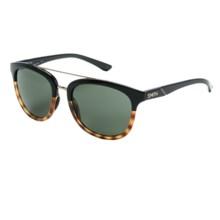 Smith Optics Clayton Sunglasses in Black Fade Tortoise/Gray Green - Closeouts