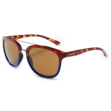 Smith Optics Clayton Sunglasses in Tortoise Blue/Brown - Closeouts