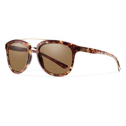Smith Optics Clayton Sunglasses - Polarized in Yellow Tortoise/Brown - Closeouts