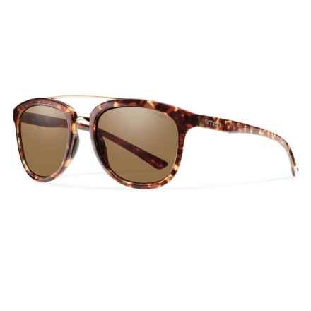 Smith Optics Clayton Sunglasses - Polarized in Yellow Tortoise/Brown - Closeouts