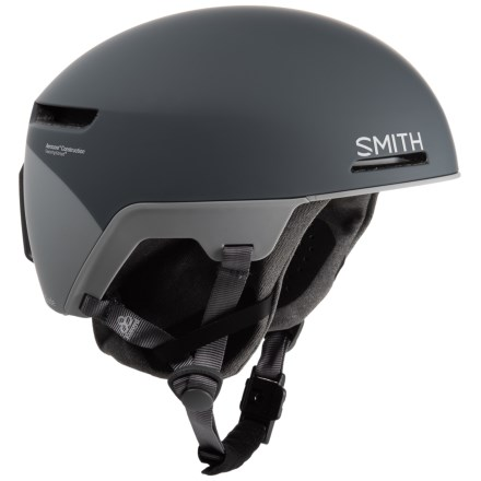 620534f8a8cdb Smith Optics Code Ski Helmet - MIPS in Matte Thunder Gray Split - Closeouts