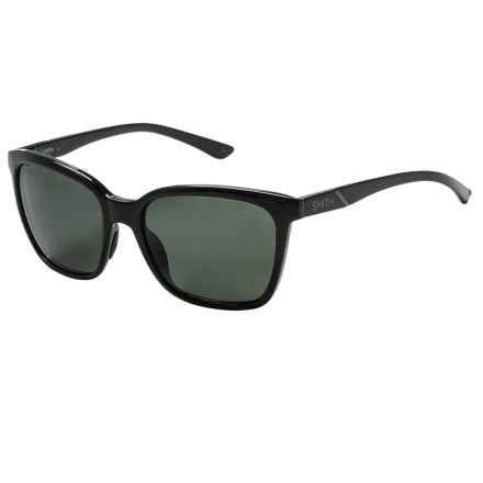 Smith Optics Colette Sunglasses - Polarized (For Women) in Black/Gray Green - Closeouts