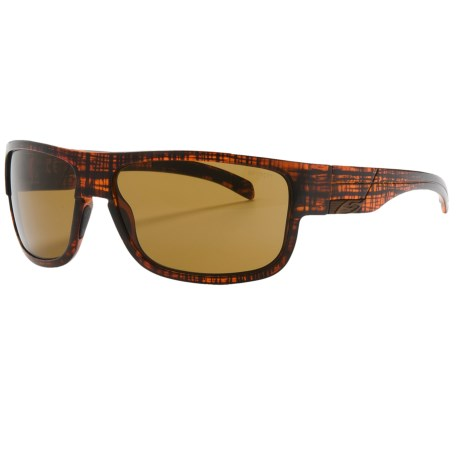Smith Optics Collective Sunglasses in Brown Line/Brown