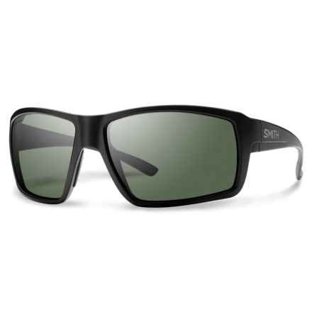 Smith Optics Colson Sunglasses - Polarized ChromaPop Lenses in Matte Black/Grey/Green - Closeouts