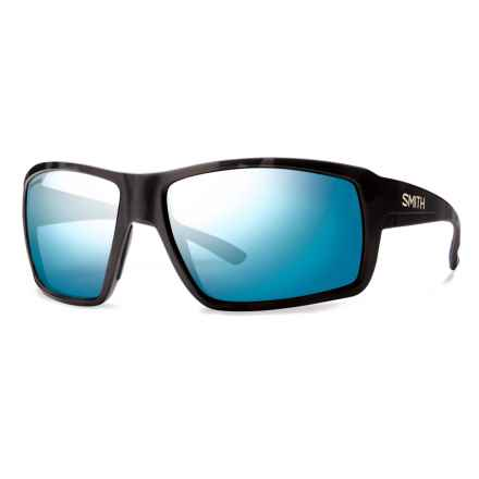 Smith Optics Colson Sunglasses - Polarized ChromaPop Lenses in Matte Tortoise/Blue Mirror - Closeouts