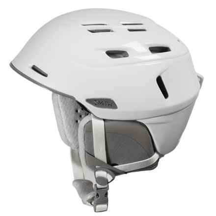 Smith Optics Compass Ski Helmet - Asia Fit in White - Closeouts