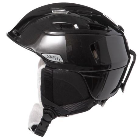 Smith Optics Compass Ski Helmet (For Women) in Black Pearl