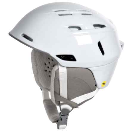 Smith Optics Compass Snowsport Helmet - MIPS (For Women) in White - Closeouts