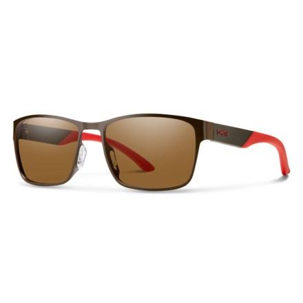 2f6f5e4cf7 Smith Optics Contra Sunglasses - Polarized Lenses (For Men) in Matte  Brown Brown