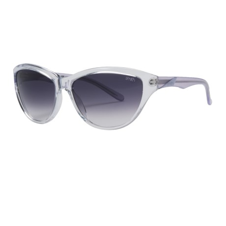 Smith Optics Cypress Sunglasses (For Women) in Crystal Lilac/Grey Gradient