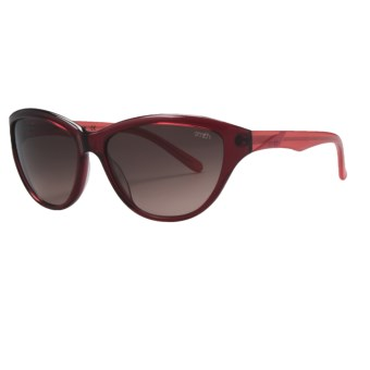 Smith Optics Cypress Sunglasses (For Women) in Red Coral/Brown Gradient