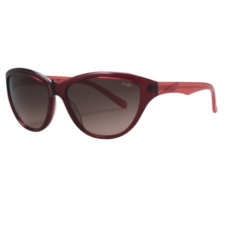 Smith Optics Cypress Sunglasses (For Women) in Havana Brown/Brown Gradient