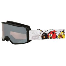 Smith Optics Daredevil Ski Goggles (For Little and Big Kids) in Black Angry Birds 1/Ignitor - Closeouts