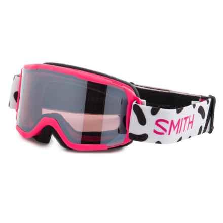 Smith Optics Daredevil Ski Goggles (For Little and Big Kids) in Pink Jam/ Ignitor Mirror - Closeouts
