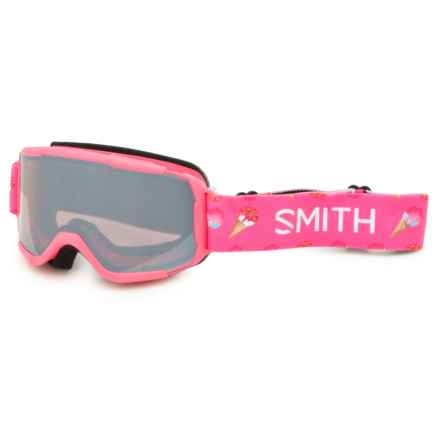 Smith Optics Daredevil Ski Goggles (For Little and Big Kids) in Pink Sugarcone/Ignitor - Closeouts