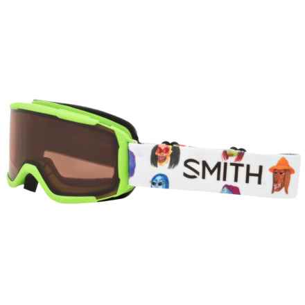 Smith Optics Daredevil Ski Goggles - RC36 Lens (For Little and Big Kids) in Creature - Closeouts