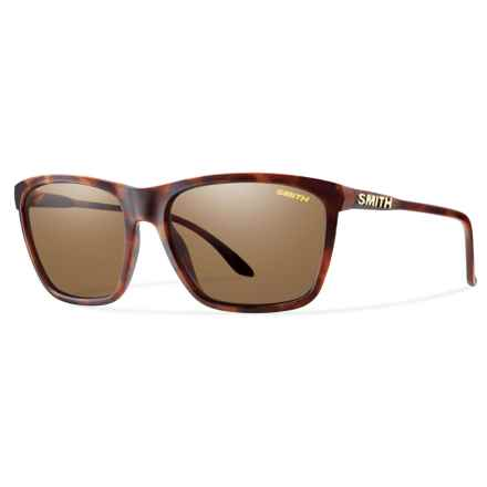 Smith Optics Delano Sunglasses - Polarized ChromaPop® Lenses (For Women) in Matte Tortoise/Brown - Overstock