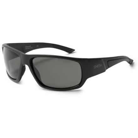 Smith Optics Discord Sunglasses - Polarized in Matte Black/Gray Green - Overstock