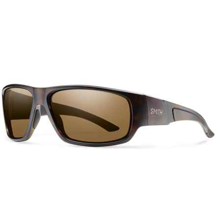 Smith Optics Discord Sunglasses - Polarized in Matte Tortoise/Brown - Closeouts