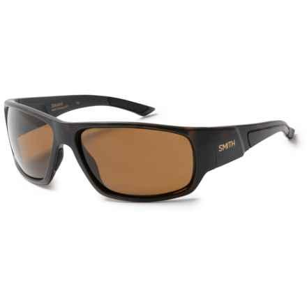 Smith Optics Discord Sunglasses - Polarized in Matte Tortoise/Brown - Overstock