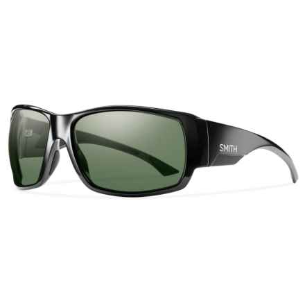 Smith Optics Dockside Sunglasses - Polarized, Chromapop Lenses in Black/Grey/Green - Closeouts