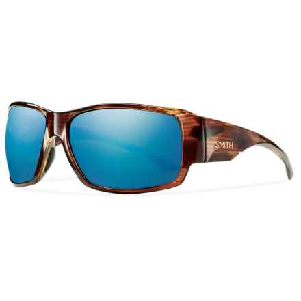 Smith Optics Dockside Sunglasses - Polarized, Chromapop Lenses in Havana/Blue - Closeouts