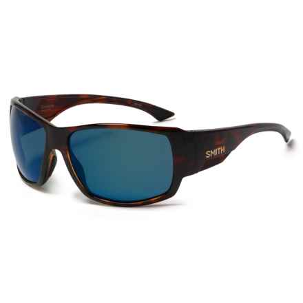 Smith Optics Dockside Sunglasses - Polarized, Chromapop Lenses in Havana/Brown - Closeouts