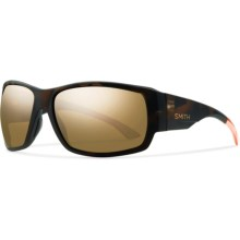 Smith Optics Dockside Sunglasses - Polarized, Chromapop Lenses in Howler Matte Tortoise/Bronze Mirror - Closeouts