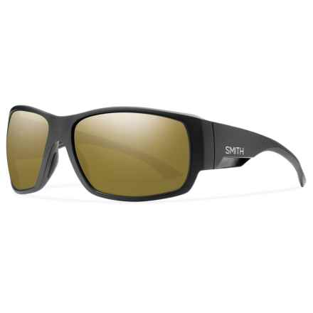 Smith Optics Dockside Sunglasses - Polarized, Chromapop Lenses in Matte Black/Bronze - Closeouts