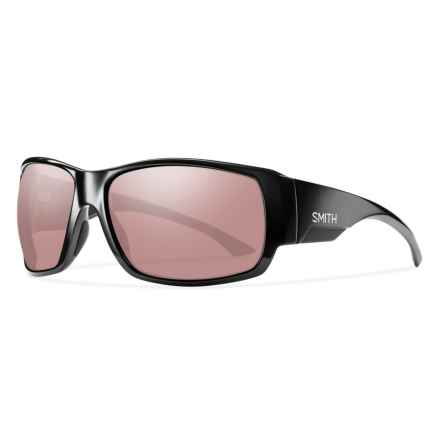 Smith Optics Dockside Sunglasses - Polarized, Polarchromic Igniter ChromaPop® Lenses in Black - Overstock