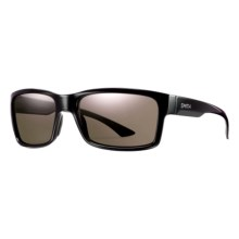 Smith Optics Dolen Sunglasses - Polarized, ChromaPop Lenses in Black/Grey-Green - Closeouts