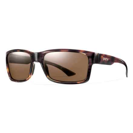 Smith Optics Dolen Sunglasses - Polarized ChromaPop Lenses in Havana/Brown - Closeouts