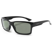 Smith Optics Dolen Sunglasses - Polarized ChromaPop+ Lenses in Black/Grey-Green - Closeouts