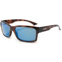 Smith Optics Dolen Sunglasses - Polarized ChromaPop+ Lenses in Havana/Blue Mirror - Closeouts