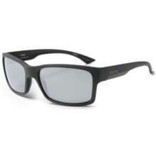 Smith Optics Dolen Sunglasses - Polarized ChromaPop+ Lenses in Matte Black/Platinum - Closeouts
