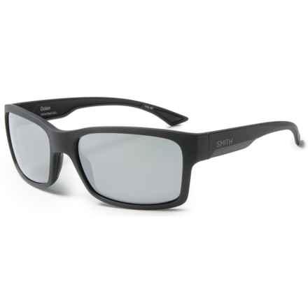 Smith Optics Dolen Sunglasses - Polarized ChromaPop+ Lenses in Matte Black/Platinum - Closeouts