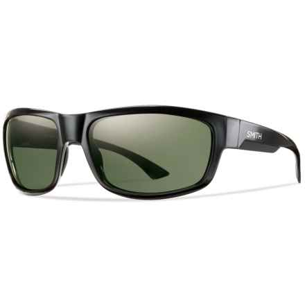 Smith Optics Dover Sunglasses - Polarized ChromaPop Lenses in Black/Gray Green - Closeouts
