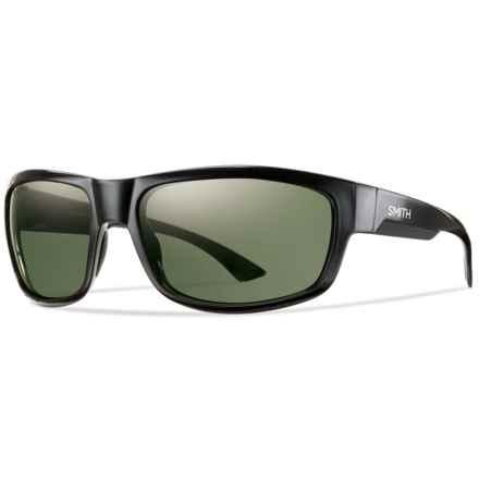 Smith Optics Dover Sunglasses - Polarized ChromaPop Lenses in Black/Gray Green - Closeouts