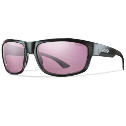 Smith Optics Dover Sunglasses - Polarized ChromaPop Lenses in Black/Ignitor - Closeouts