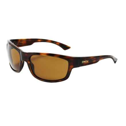 Smith Optics Dover Sunglasses - Polarized ChromaPop Lenses in Havanna/Brown - Closeouts